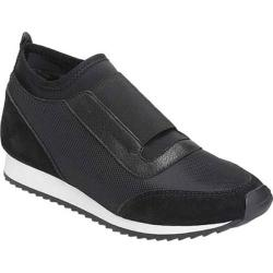 Women's Aerosoles Pantheon Slip On Black Combo Mesh/Suede/Elastic