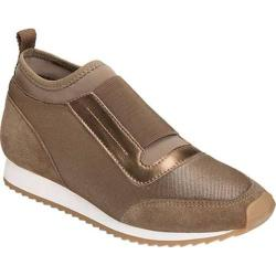 Women's Aerosoles Pantheon Slip On Taupe Comb Mesh/Suede/Elastic