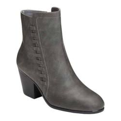 Women's Aerosoles Vitality Ankle Boot Grey Faux Leather