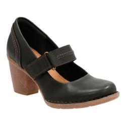 Women's Clarks Carleta Prato Mary Jane Black Cow Full Grain Leather