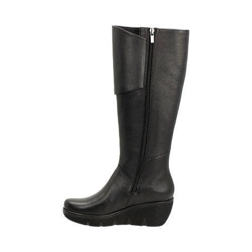 31e3b307d5c ... Thumbnail Women  x27 s Clarks Clarene Wake Knee High Boot Black Cow  Full Grain