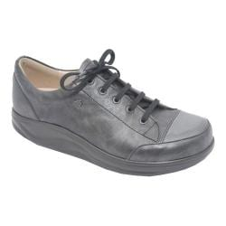 Women's Finn Comfort Ikebukuro Black/Stone Nappa Leather