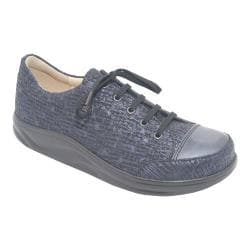 Women's Finn Comfort Ikebukuro Notte/Atlantic Nappa Leather/Texture