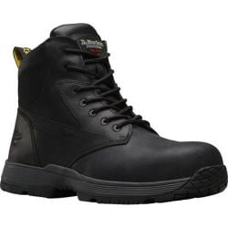 Dr. Martens Corvid Non-Metallic SD Safety Toe 7 Eye Boot Black Connection