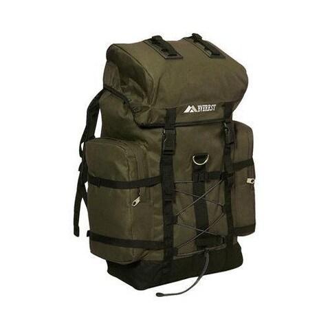 Everest Hiking Pack Olive/Black