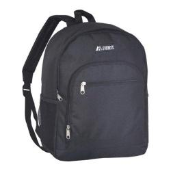 Everest Casual Mesh Pocket Backpack Black