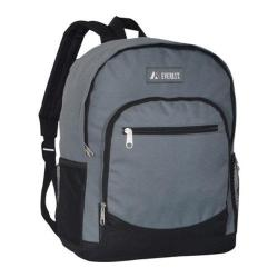 Everest Casual Mesh Pocket Backpack Dark Gray/Black
