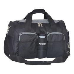 Everest Sports Duffel Wet Pocket Dark Gray/Black