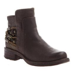Women's OTBT Highstreet Biker Boot Coffeebean Leather