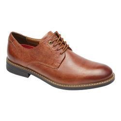 Men's Rockport Classic Break Plain Toe Oxford New Cognac Leather