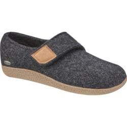 Giesswein Camden Closed Back Clog Charcoal Wool