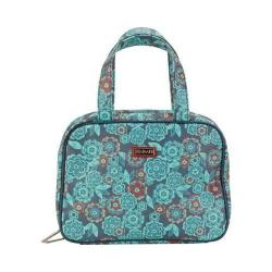 Women's Hadaki by Kalencom Make Up Case Pod Floral Vegan Leather