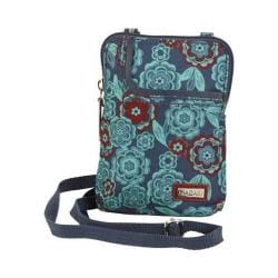 Women's Hadaki by Kalencom Mobile Cross Body Bag Floral