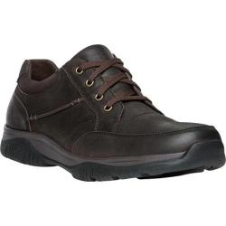 Men's Propet Devan Lace-Up Coffee Nubuck/Leather