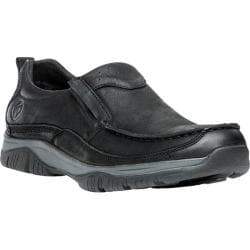 Men's Propet Felix Slip-On Black Nubuck/Leather