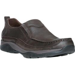 Men's Propet Felix Slip-On Coffee Nubuck/Leather