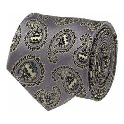 Men's Cufflinks Inc Batman Paisley Tie Gray