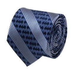 Men's Cufflinks Inc Batman Pinstripe Tie Navy