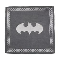 Men's Cufflinks Inc Batman Pocket Square Gray