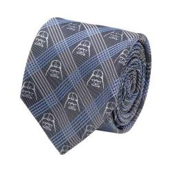 Men's Cufflinks Inc Darth Vader Plaid Tie Blue