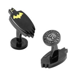 Men's Cufflinks Inc Glow in the Dark Batman Cape Cufflinks Black