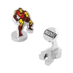 Men's Cufflinks Inc Iron Man Action Cufflinks Red