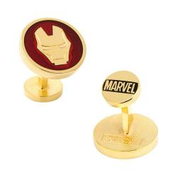 Men's Cufflinks Inc Iron Man Cufflinks Red