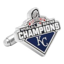 Men's Cufflinks Inc KC Royals 2015 World Series Champions Cufflinks Blue