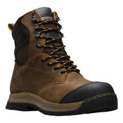 Men's Dr. Martens Spate EH Safety Toe Waterproof 8 Eye Boot Brown Overlord Waterproof