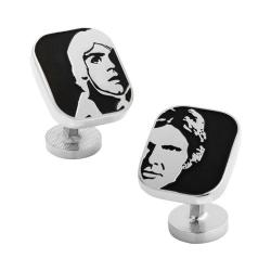 Men's Cufflinks Inc Luke and Han Solo Cufflinks Black