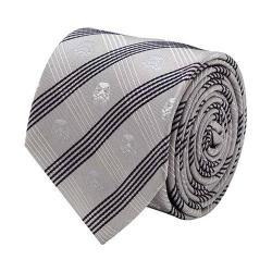Men's Cufflinks Inc Stormtrooper Plaid Tie Gray