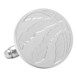 Men's Cufflinks Inc Toronto Raptors Silver Edition Cufflinks Silver