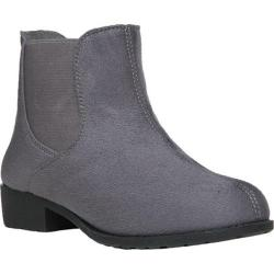 Women's Propet Scout Chelsea Boot Grey Velour