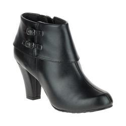 Women's Soft Style Creel Bootie Black Vitello