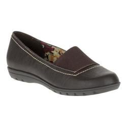 Women's Soft Style Varya Loafer Dark Brown Leather
