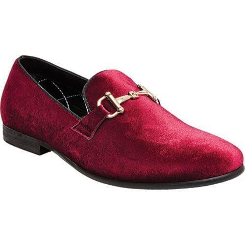 302abd5c016 Shop Men s Steve Madden Coine Loafer Burgundy Velvet - Free Shipping Today  - Overstock - 12605469