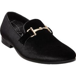 Men's Steve Madden Coine Loafer Black Velvet