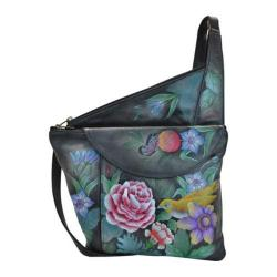 Women's Anuschka Asymmetric Slim Crossbody Vintage Bouquet