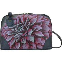 Women's Anuschka Multi Compartment Zip Around Organizer Dreamy Dahlias Pink