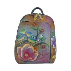 Women's Anuschka Sling-Over Travel Backpack Blissful Birds