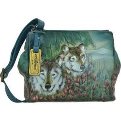 Women's Anuschka Triple Compartment Convertible Tote Western Wolf