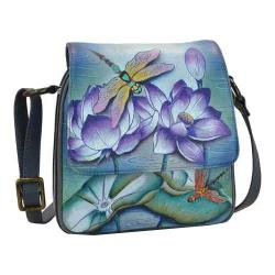 Women's Anuschka Triple Compartment Crossbody Organizer Tranquil Pond