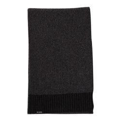 Men's Ben Sherman Birdseye Scarf Black Heather