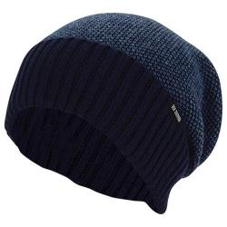 Men's Ben Sherman Birdseye Slouch Beanie Staples Navy Heather