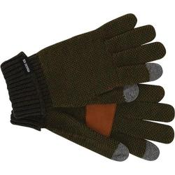 Men's Ben Sherman Birdseye Touch Tek Gloves Dark Olive Heather