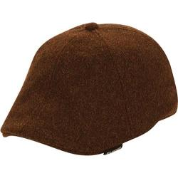 Men's Ben Sherman Core Open Back Flat Cap Brown