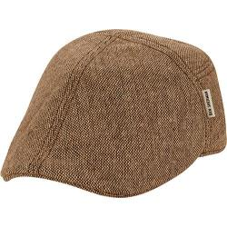Men's Ben Sherman Pieced Fitted Flat Cap Brown