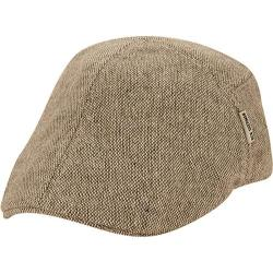 Men's Ben Sherman Pieced Fitted Flat Cap Smoked Pearl