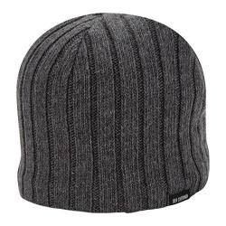 Men's Ben Sherman Rib Knit Beanie Charcoal Heather