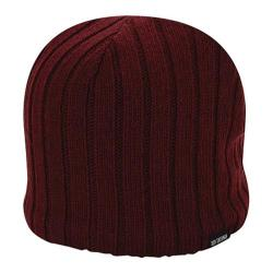 Men's Ben Sherman Rib Knit Beanie Dark Port Heather